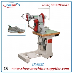 Shoe Upper And Sole Double Needle Sewing Machine LX-668ZZ